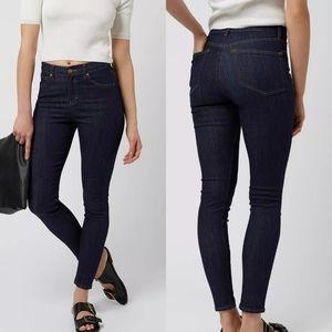 Topshop Moto Pinstripe Jamie Jeans